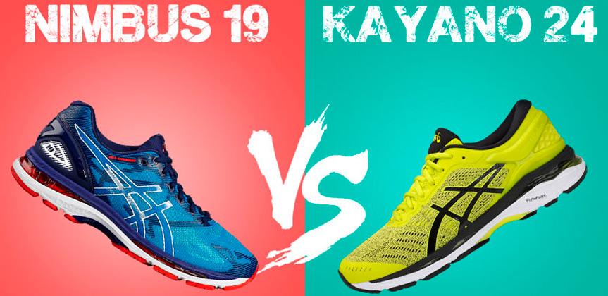 8ad4cd0b Сравнение кроссовок Asics Gel Kayano 24 и Nimbus 19, амортизирующие ...