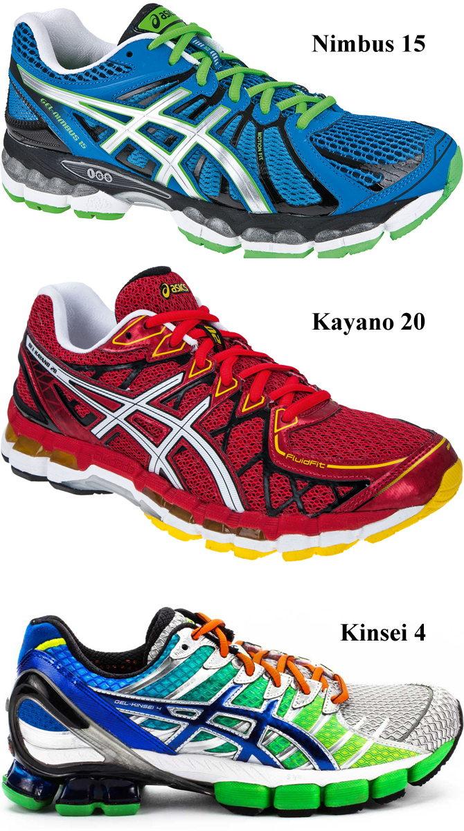 47d8baa8 В настоящее время покупателям предлагается три наиболее технологичных  модели: Nimbus 15, Kayano 20 и Kinsei 4 из категории