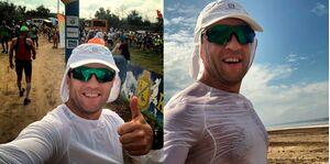 Евгений Борщ пробежал ультрамарафон по 40-градусной жаре