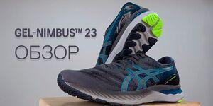 Обзор кроссовок Asics Gel-Nimbus 23 (видео)