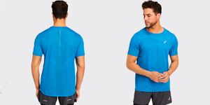 Обзор ультратонкой футболки для бега ASICS Ventilate (видео)