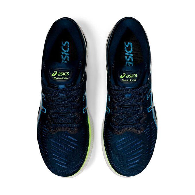 Фото 6 - Мужские кроссовки ASICS Metaride, Цвет: 400 - French Blue/Digital Aqua