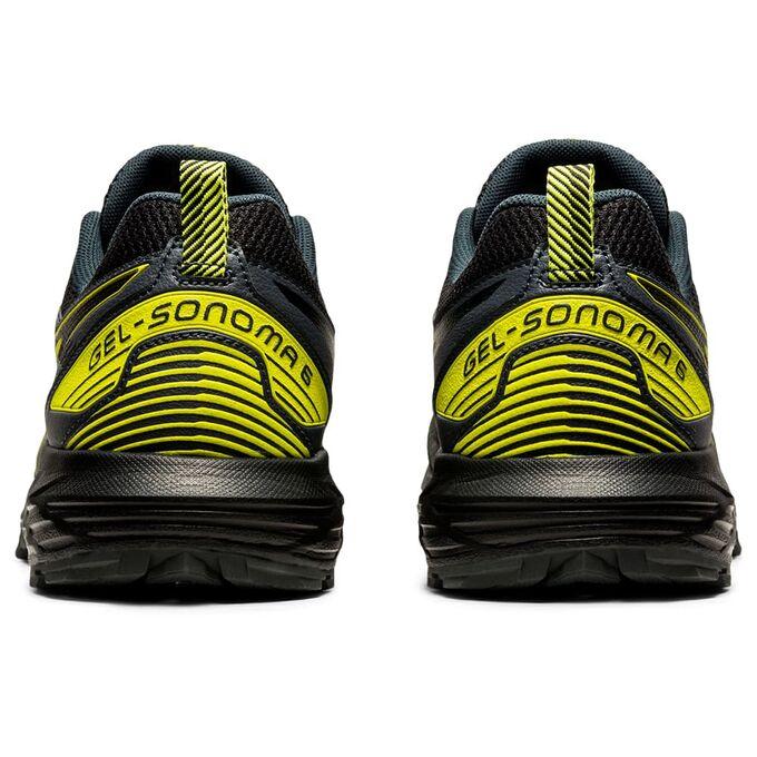 Фото 5 - Мужские кроссовки Gel-Sonoma 6, Цвет: 020 - Graphite Grey/Sour Yuzu
