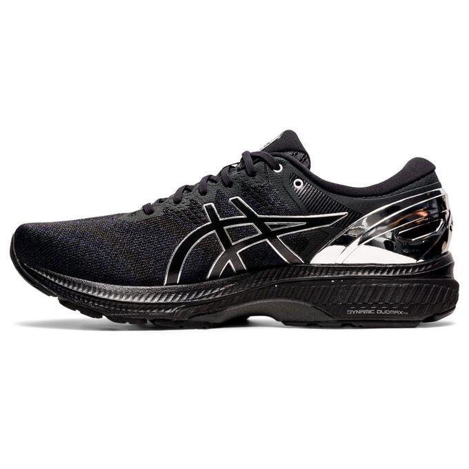 Фото 2 - Мужские кроссовки ASICS Gel-Kayano 27 Platinum, Цвет: 001 -  Black/Pure Silver,