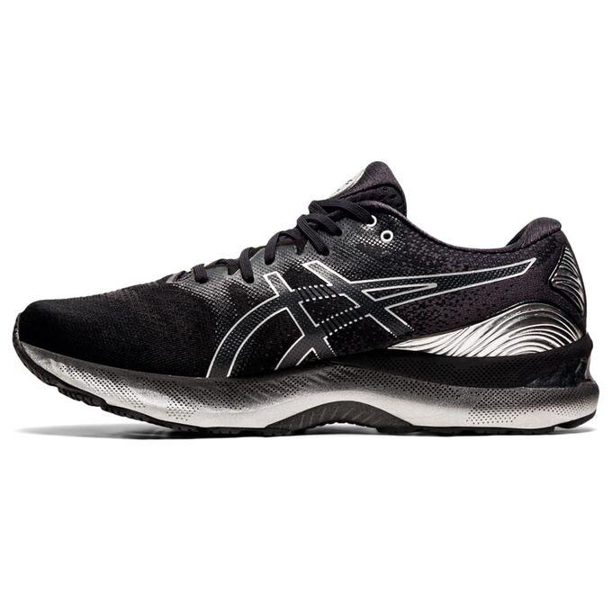 Фото 2 - Мужские кроссовки ASICS Gel-Nimbus 23 Platinum, Цвет: 001 - Black/Pure Silver