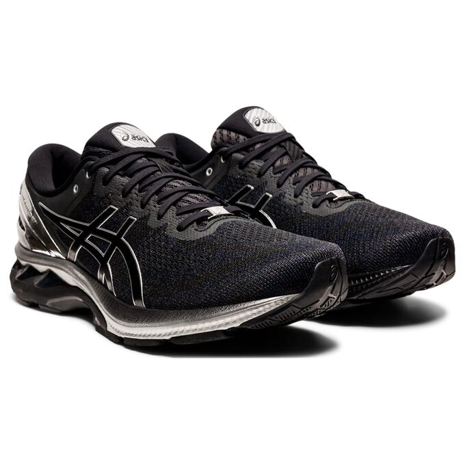 Фото 3 - Мужские кроссовки ASICS Gel-Kayano 27 Platinum, Цвет: 001 -  Black/Pure Silver,