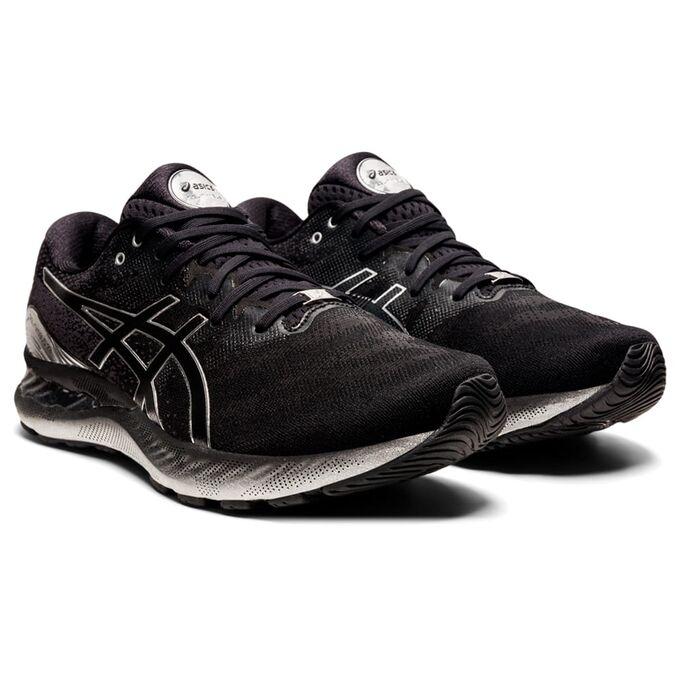 Фото 3 - Мужские кроссовки ASICS Gel-Nimbus 23 Platinum, Цвет: 001 - Black/Pure Silver