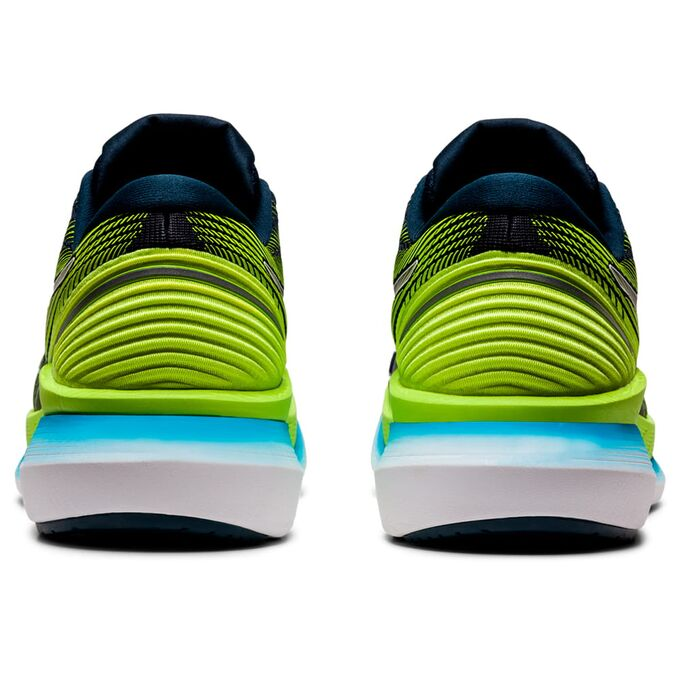 Фото 5 - Мужские кроссовки ASICS Glideride 2, Цвет: 400 -  French Blue/Hazard Green