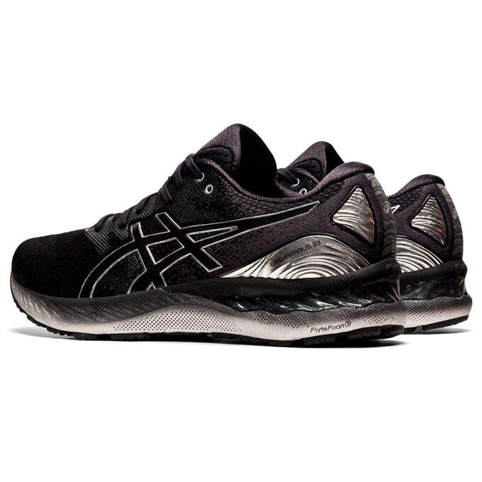 Фото 4 - Мужские кроссовки ASICS Gel-Nimbus 23 Platinum, Цвет: 001 - Black/Pure Silver