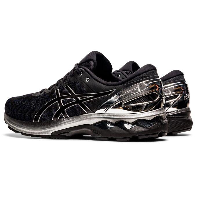 Фото 4 - Мужские кроссовки ASICS Gel-Kayano 27 Platinum, Цвет: 001 -  Black/Pure Silver,