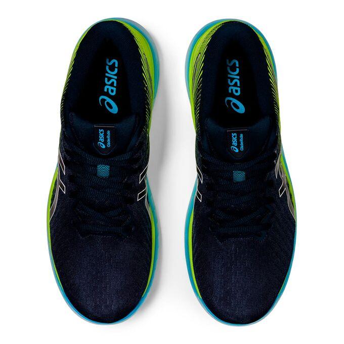 Фото 6 - Мужские кроссовки ASICS Glideride 2, Цвет: 400 -  French Blue/Hazard Green
