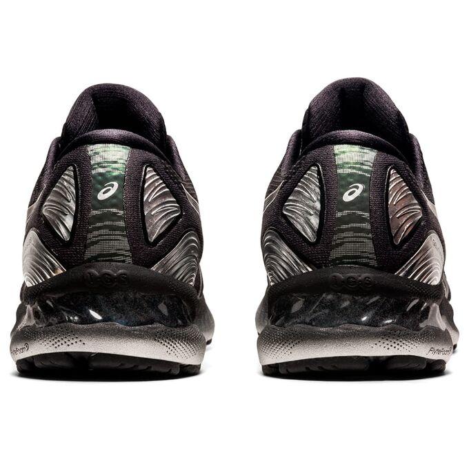 Фото 5 - Мужские кроссовки ASICS Gel-Nimbus 23 Platinum, Цвет: 001 - Black/Pure Silver