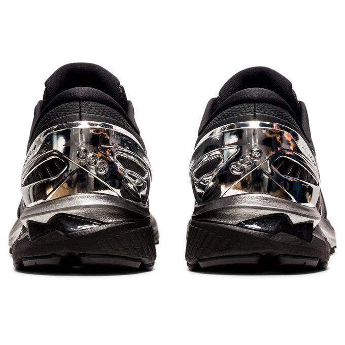 Фото 5 - Мужские кроссовки ASICS Gel-Kayano 27 Platinum, Цвет: 001 -  Black/Pure Silver,