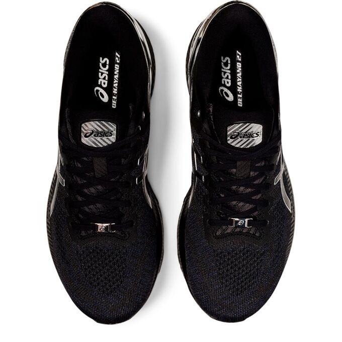 Фото 6 - Мужские кроссовки ASICS Gel-Kayano 27 Platinum, Цвет: 001 -  Black/Pure Silver,