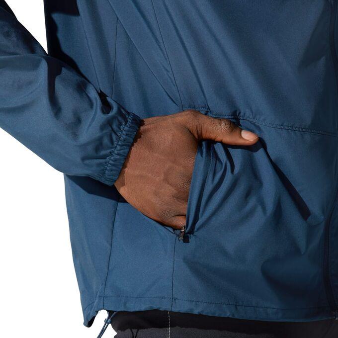 Фото 5 – Мужская куртка ASICS Core, Цвет: 400 – French Blue