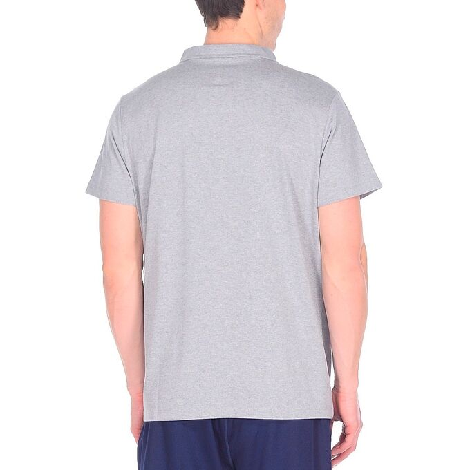 Фото 2 - Мужская футболка ASICS Polo, Цвет: Grey