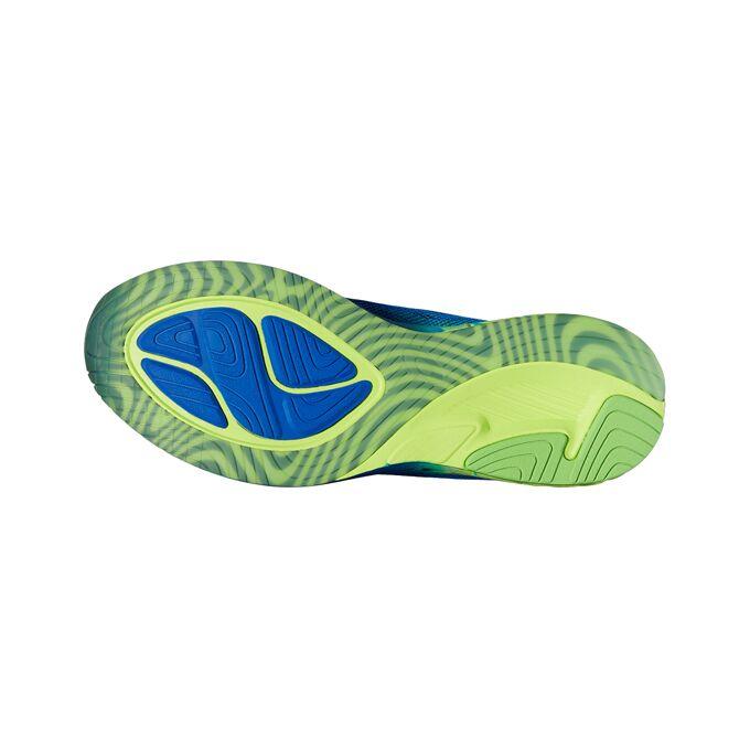 Фото 2 – Мужские кроссовки ASICS Noosa FF, Цвет: 4507 – Imperial/Safety Yellow/Green Gecko