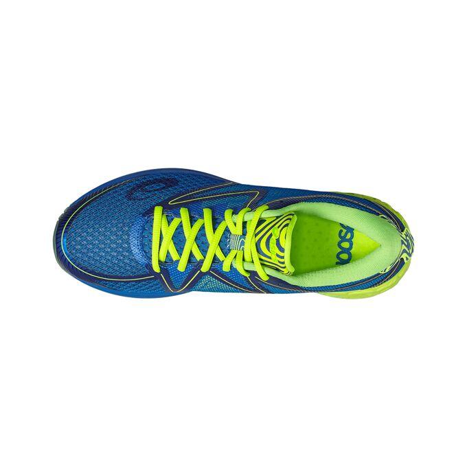 Фото 3 – Мужские кроссовки ASICS Noosa FF, Цвет: 4507 – Imperial/Safety Yellow/Green Gecko