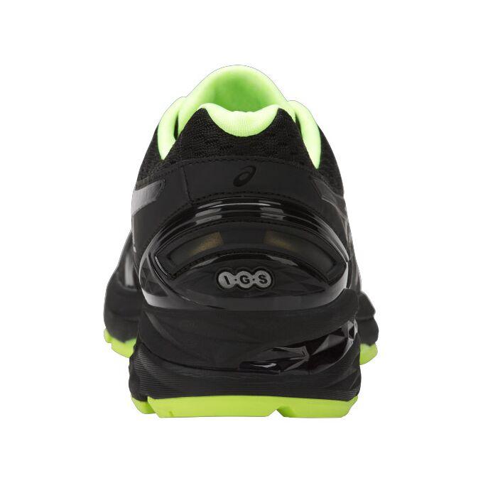 Фото 6 - Мужские кроссовки ASICS GT-2000 5 Lite-Show, Цвет: Black/Safety Yellow/Reflective