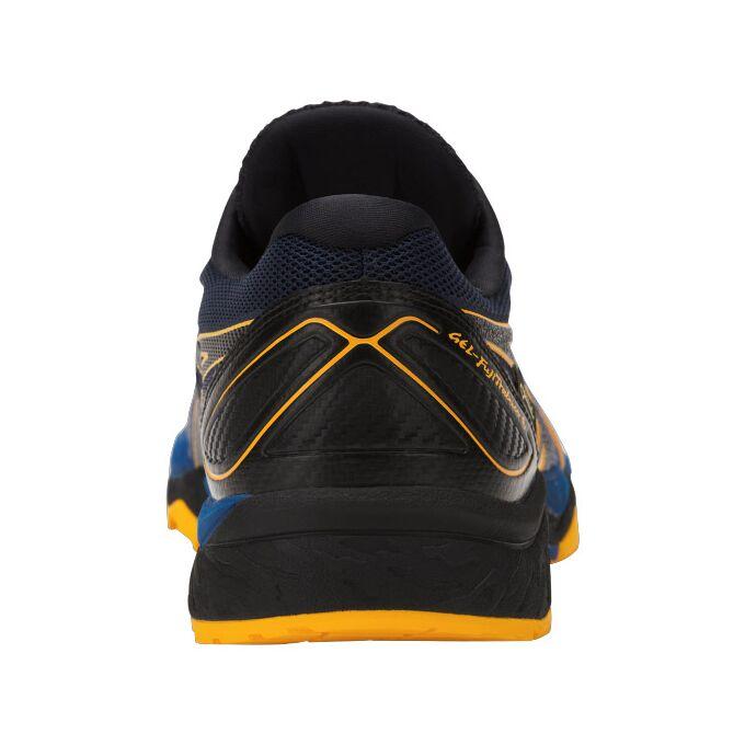 Фото 6 - Мужские кроссовки ASICS FujiTrabuco 6 G-TX, Цвет: Blue/Black/Gold Fusion