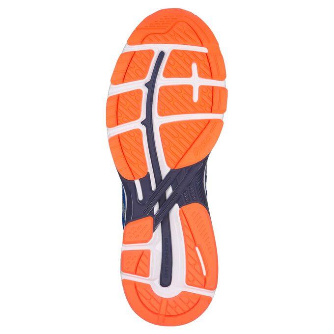 Фото 2 - Мужские кроссовки ASICS GT-2000 6, Цвет: Victoria Blue/Dark Blue/Shocking Orange