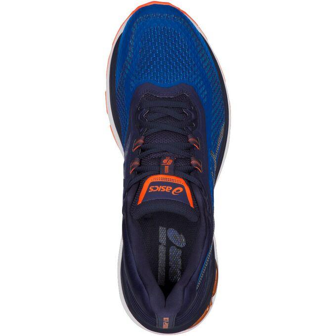 Фото 3 - Мужские кроссовки ASICS GT-2000 6, Цвет: Victoria Blue/Dark Blue/Shocking Orange