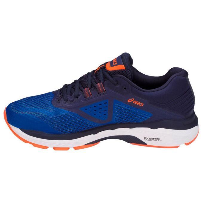Фото 4 - Мужские кроссовки ASICS GT-2000 6, Цвет: Victoria Blue/Dark Blue/Shocking Orange