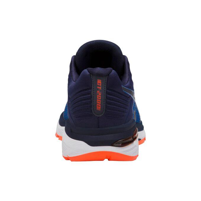 Фото 6 - Мужские кроссовки ASICS GT-2000 6, Цвет: Victoria Blue/Dark Blue/Shocking Orange